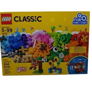 Lego Classic Building Set 10712 - 244 Pieces Retired NWT